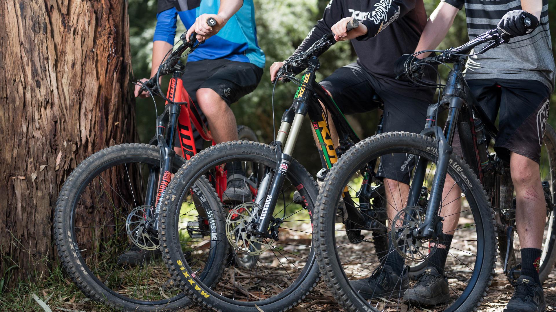 Ride Yarra Ranges - Mountain bike riders at Warburton Community for Consultation