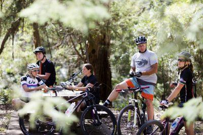MTB Riders at Warburton