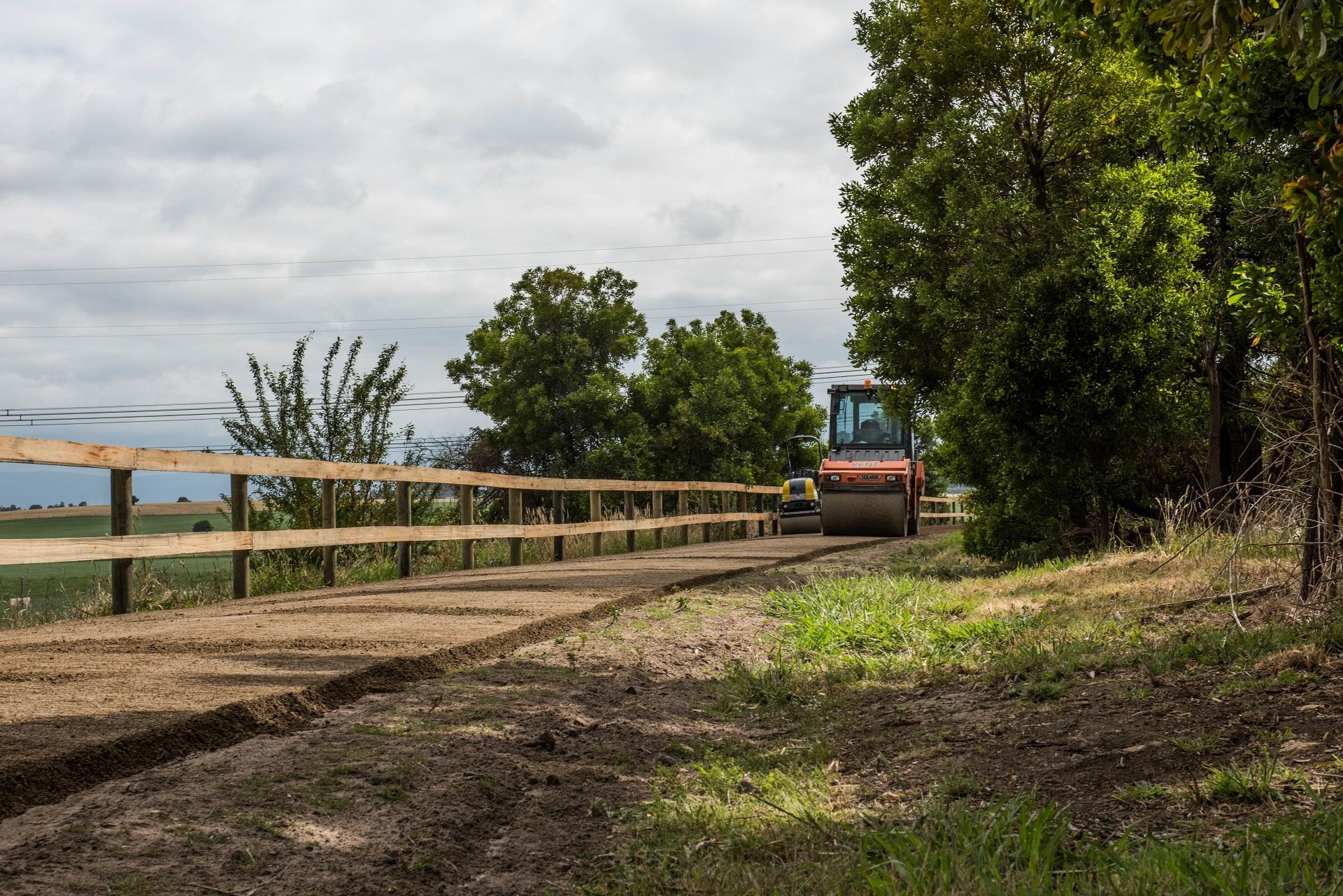 Yarra Valley Trail Steamroller